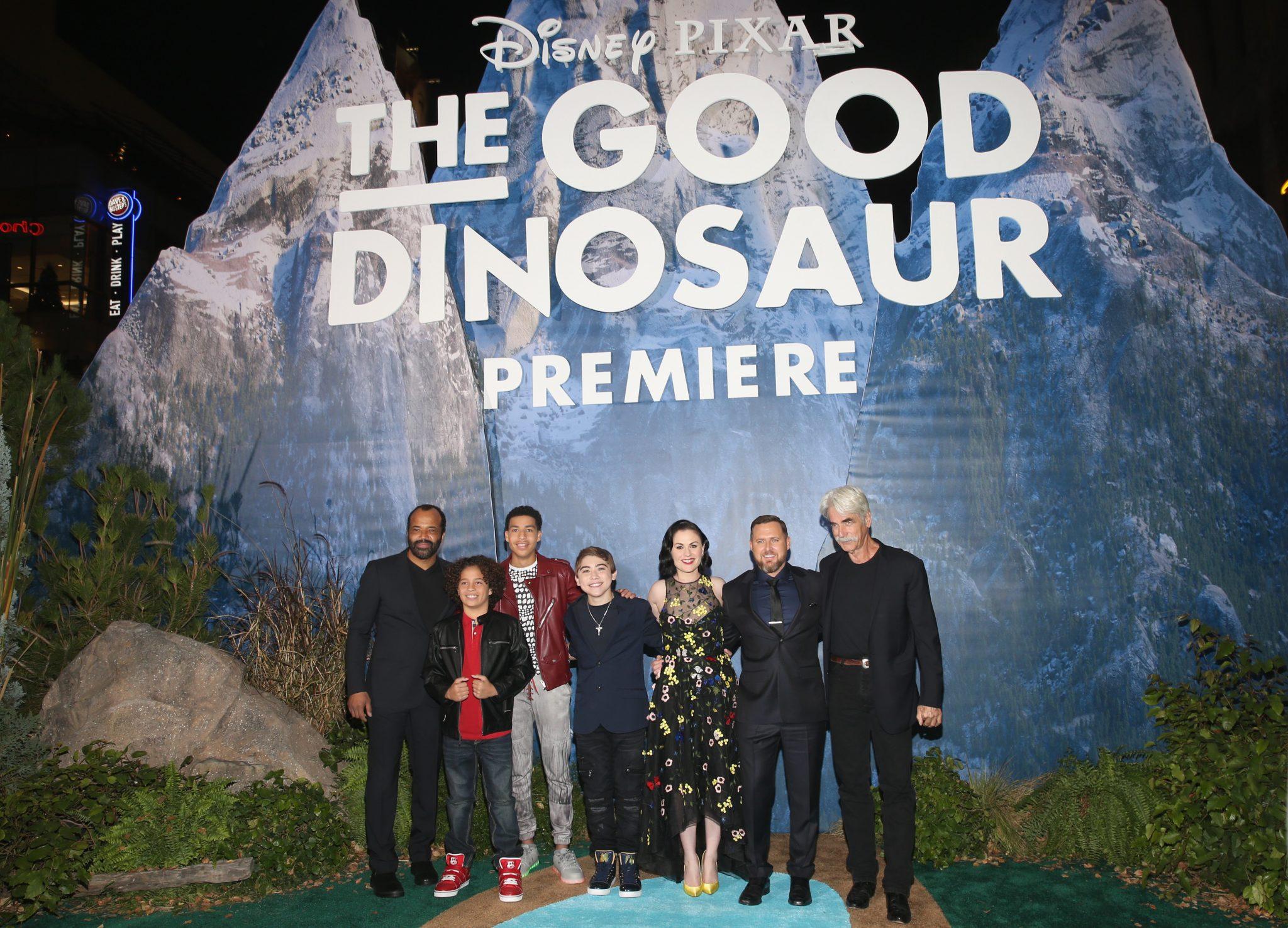 Red Carpet Arrivals: Disney Pixar The Good Dinosaur Premiere