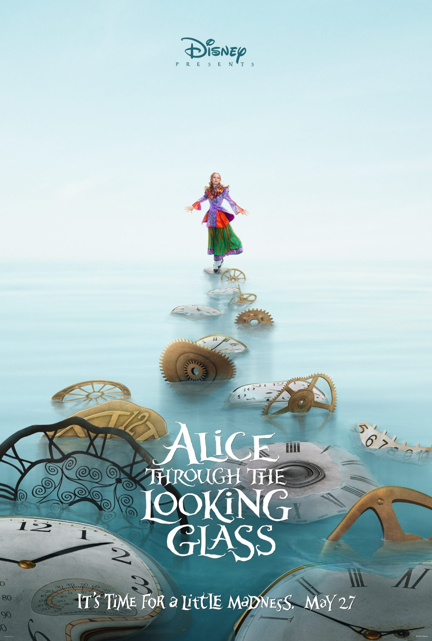 First Look! Disney's 'Alice Through The Looking Glass' Starring Johnny Depp