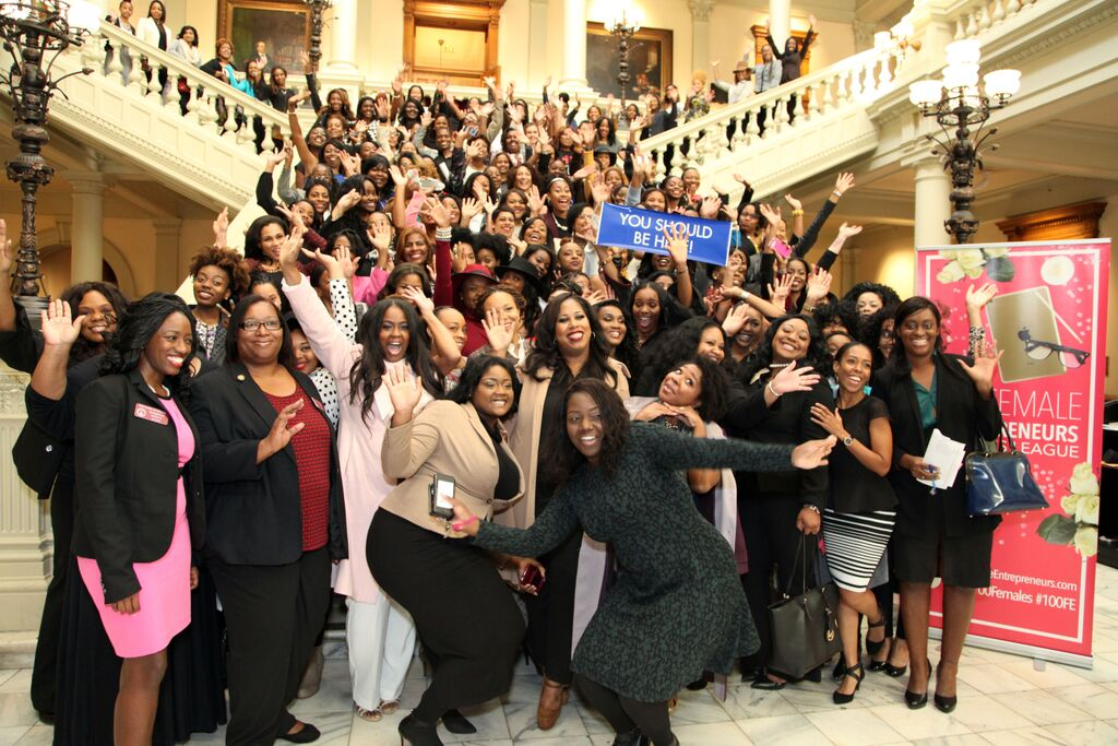 100 Female Entrepreneurs At The State Capitol!