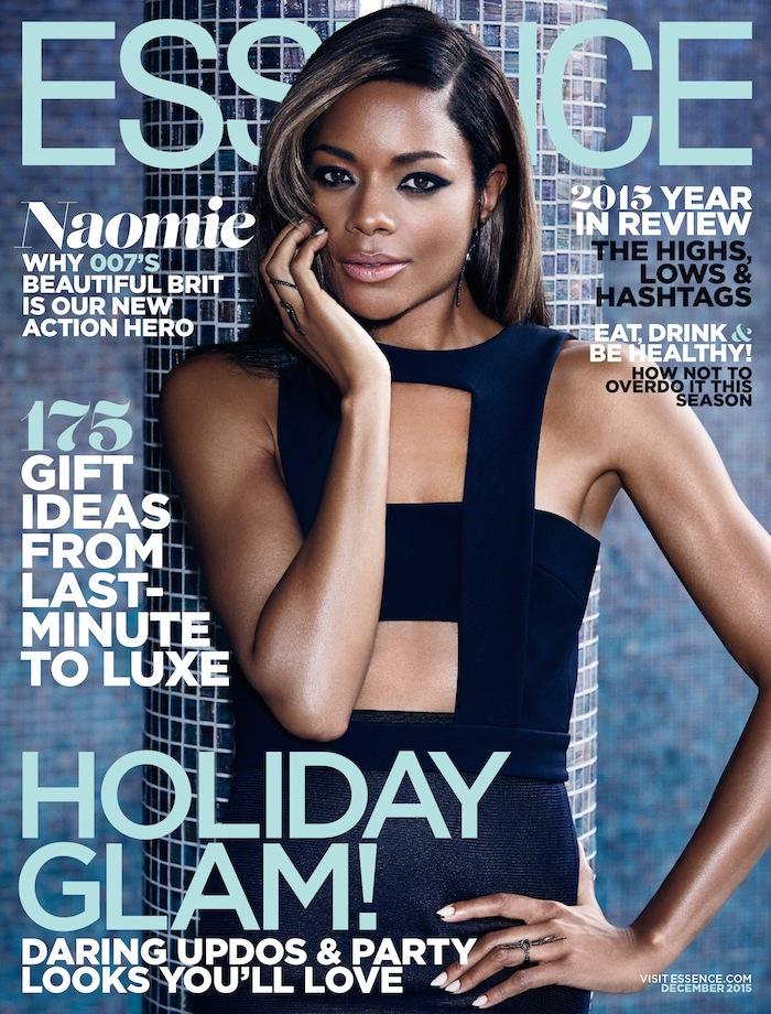 Naomie Harris For Essence Magazine