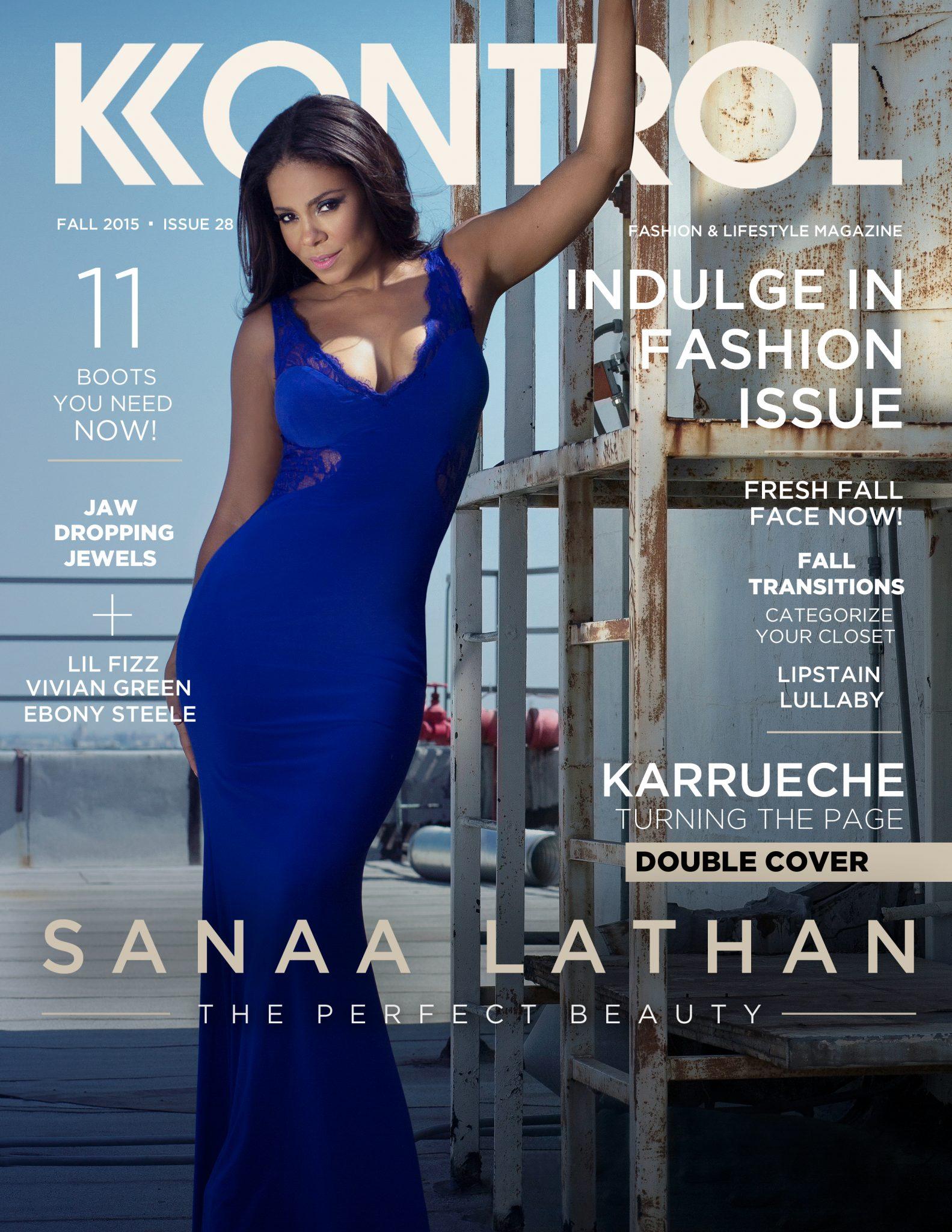 Sanaa Lathan & Karrueche Tran For Kontrol Magazine