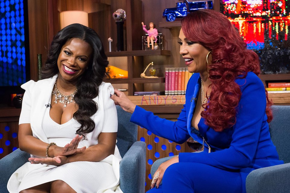 In Case You Missed It: Vivica A.Fox & Kandi Burruss On 'Watch What Happens Live'