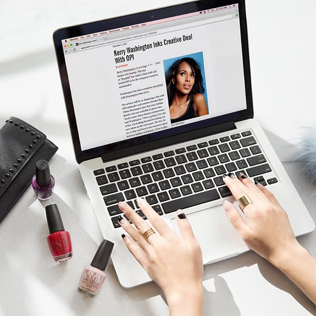 Kerry Washington Inks Deal With OPI!