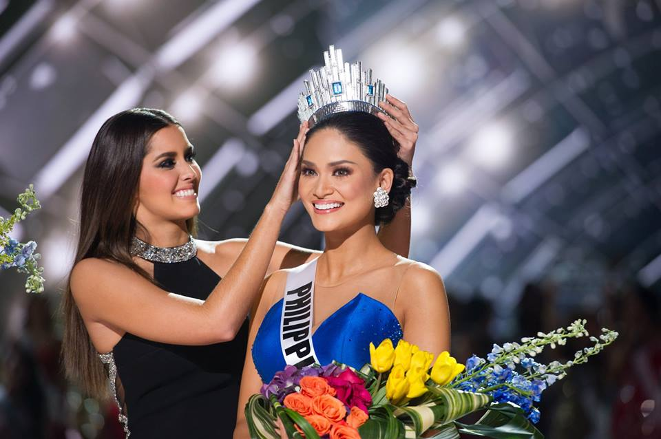 Congrats to Miss Universe 2015, Pia Alonzo Wurtzbach of the Philippines!