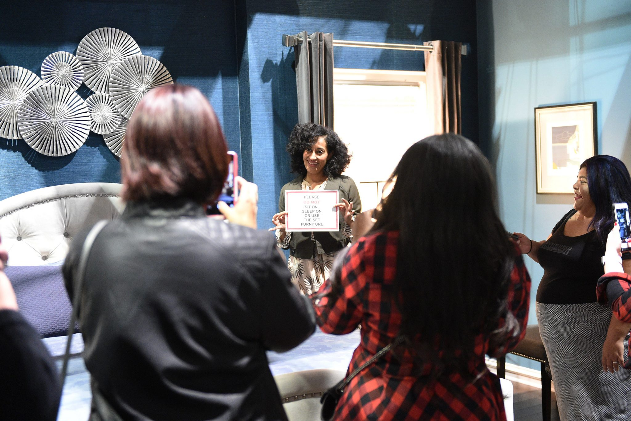 A Set Visit At ABC'S 'black-ish' With Tracee Ellis Ross #ABCTVEVENT