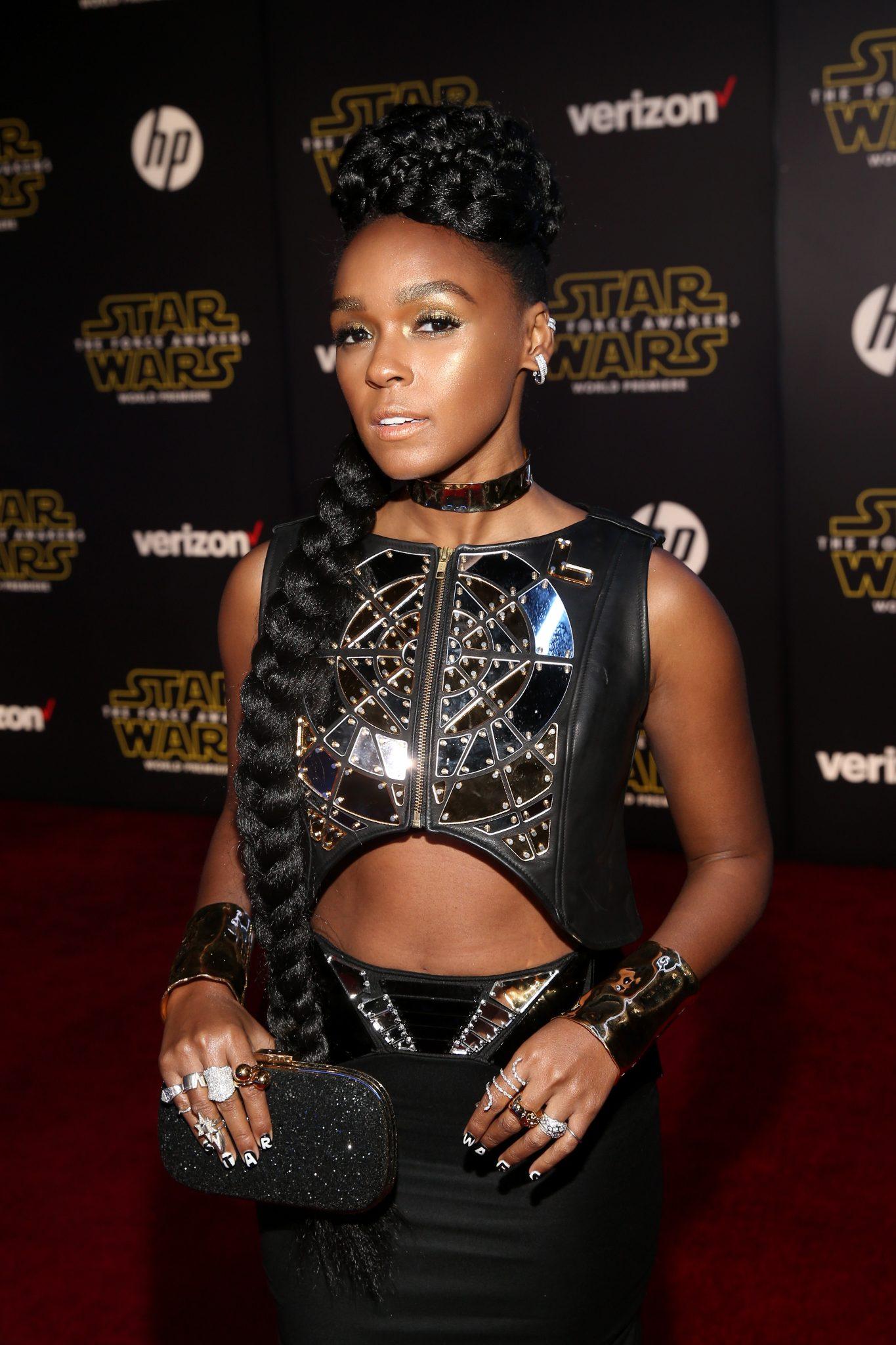 Wardrobe Breakdown: Janelle Monae At The Star Wars: The Force Awakens Premiere