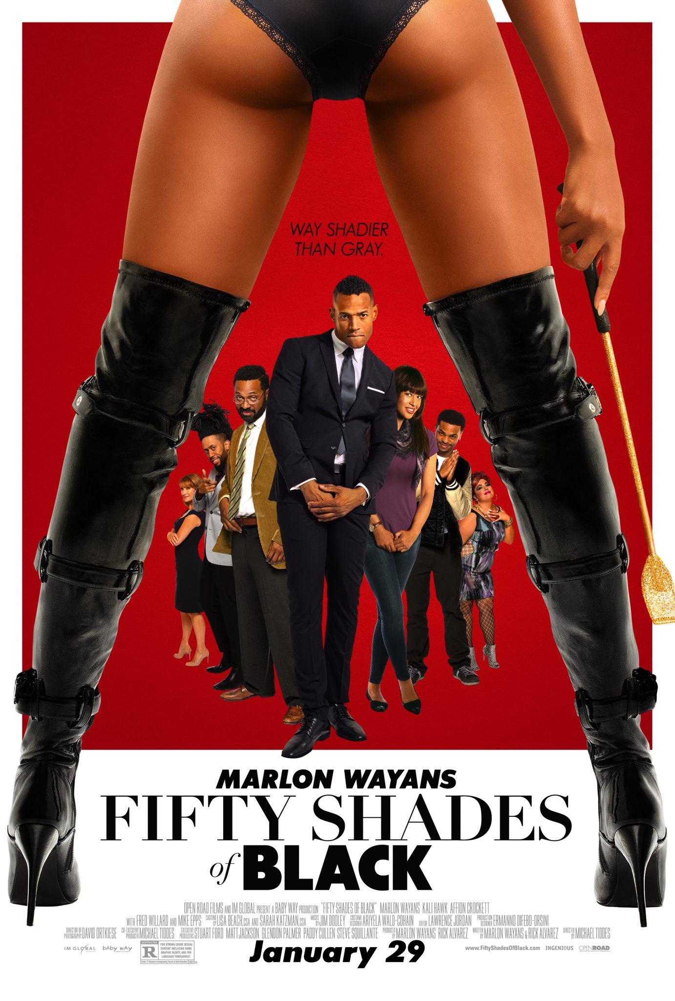 New Movie: 'Fifty Shades of Black' Starring Marlon Wayans
