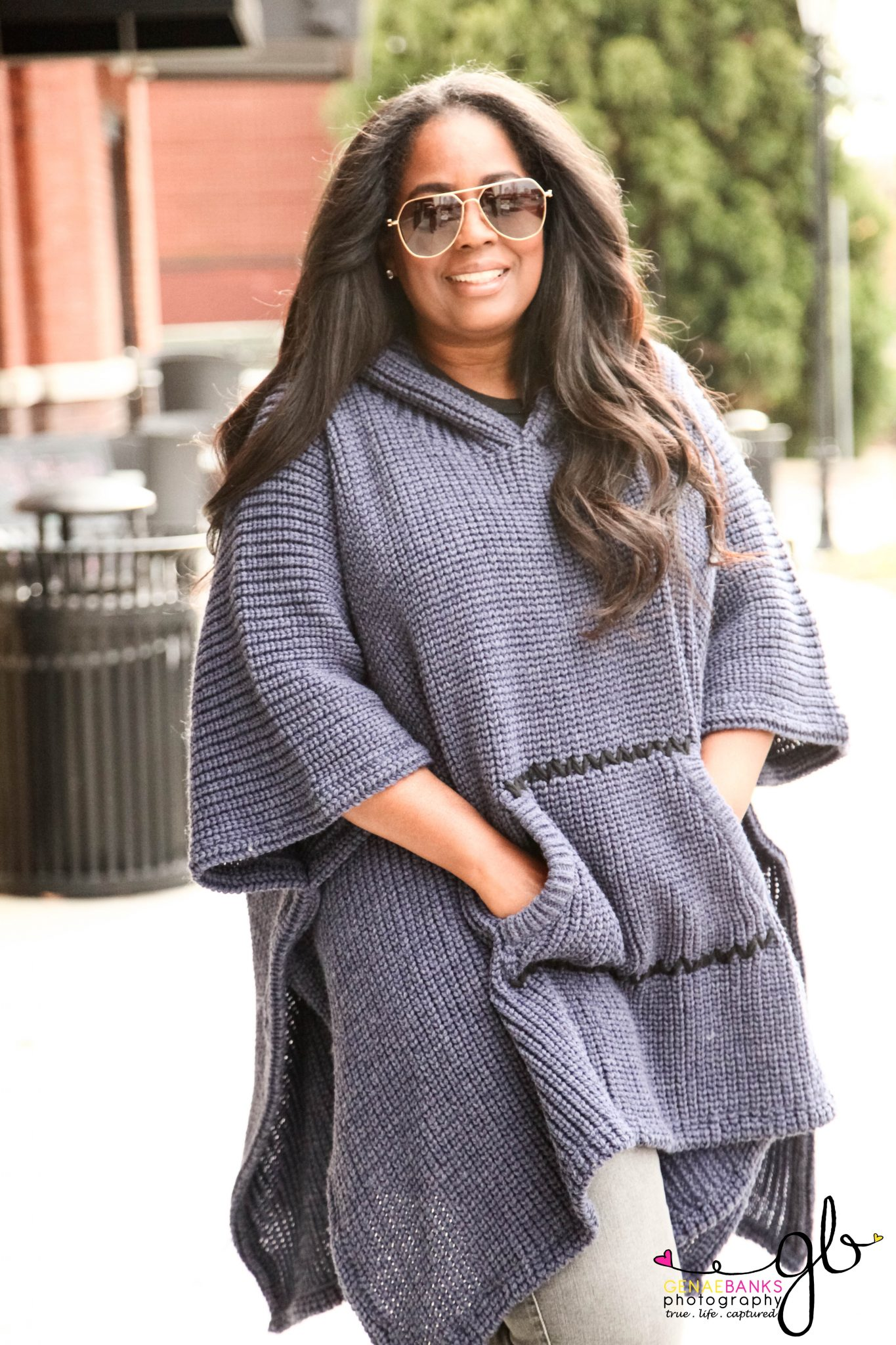 My Style: Free People Brookside Hooded Poncho