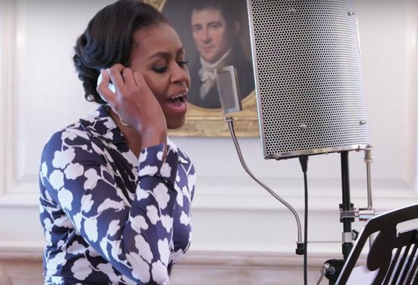 Wardrobe Breakdown: Michelle Obama 'Go To College' Video