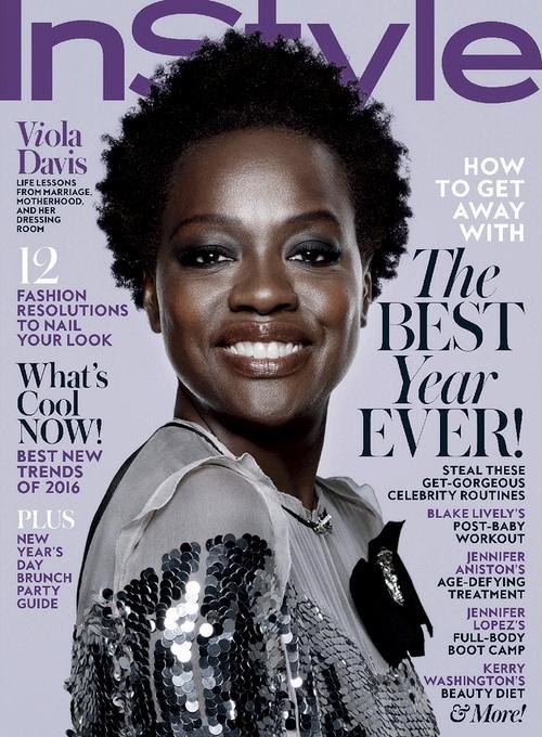 Viola Davis For InStyle Magazine