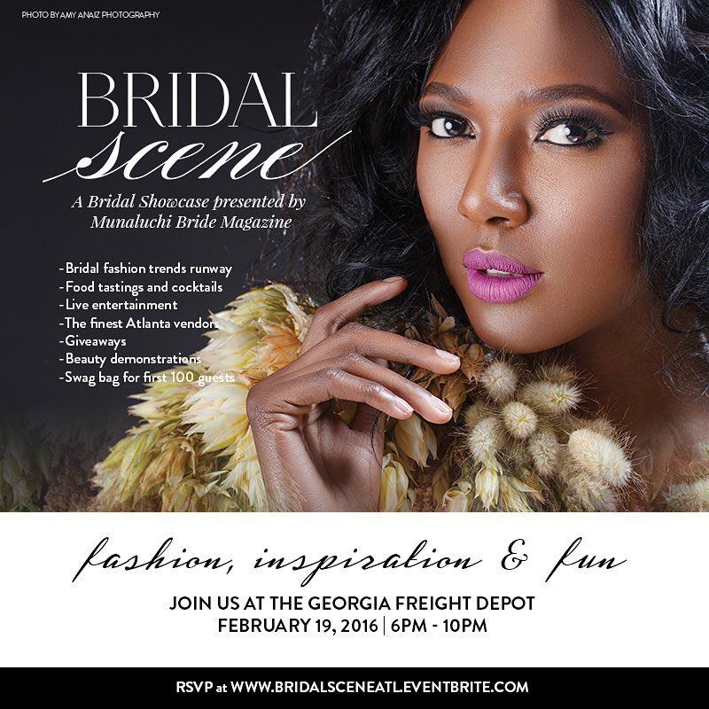 Introducing The Bridal Scene – Presented by Munaluchi Bride In Atlanta!