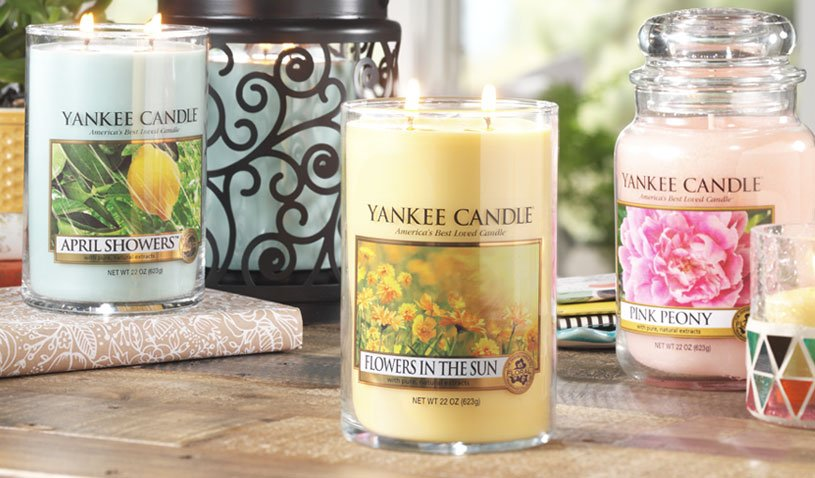 Yankee Candle New Spring Collection