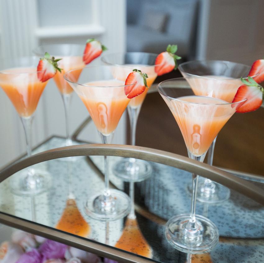 Valentine's Day Strawberry Martini
