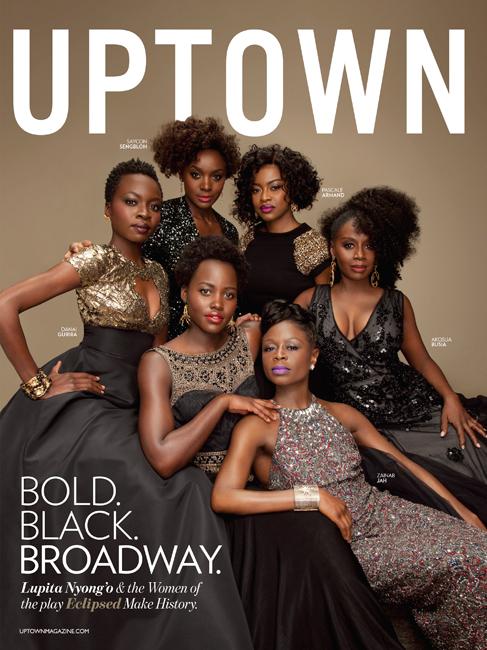 Lupita Nyong'o, Danai Gurira & The Women of Eclipsed For Uptown Magazine