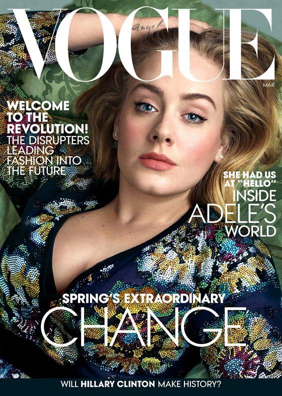 Wardrobe Breakdown: Adele For 'Vogue'