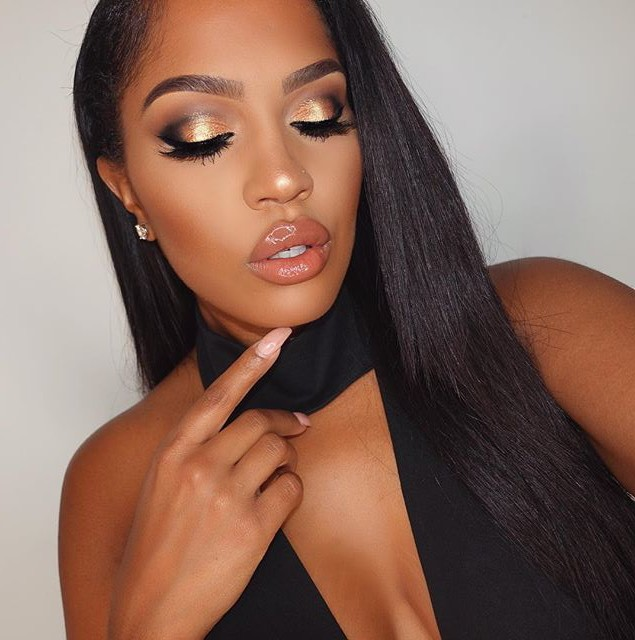 Get The Look: Makeup Shayla's Spring Copper Glitter Glam
