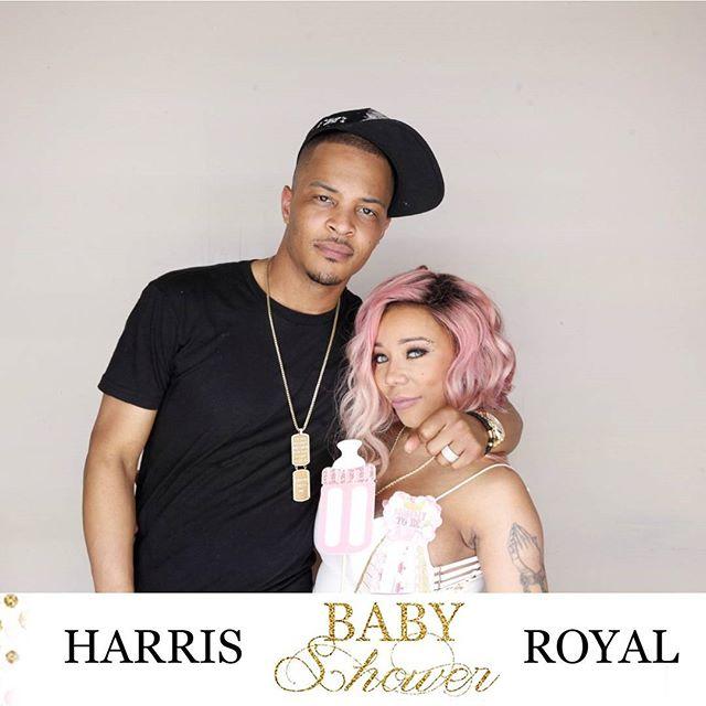 T.I. & Tiny 'Royal Affair' Baby Shower