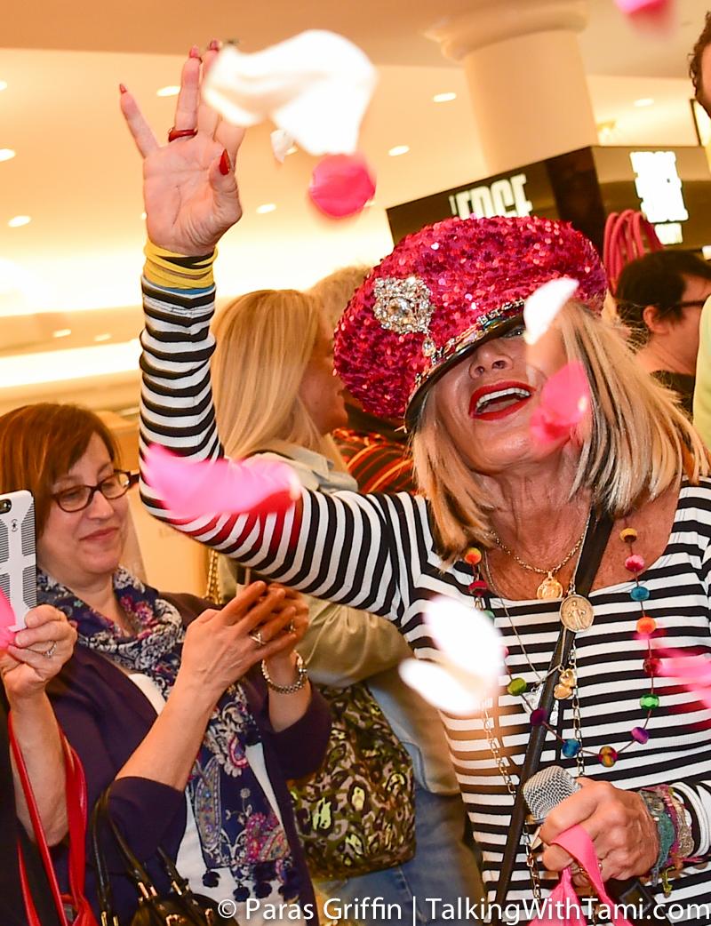 Fashion Designer Betsey Johnson Invades Mall Of Georgia!