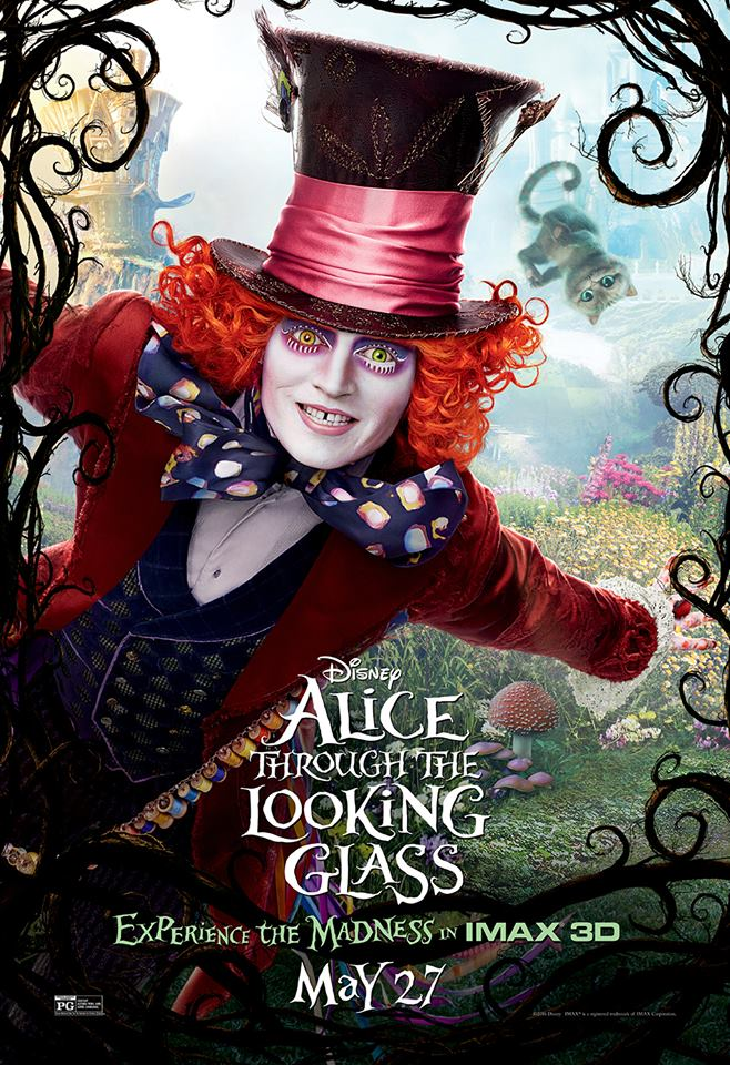 I'm Headed To Disney's 'Alice Through The Looking Glass' Event In L.A.