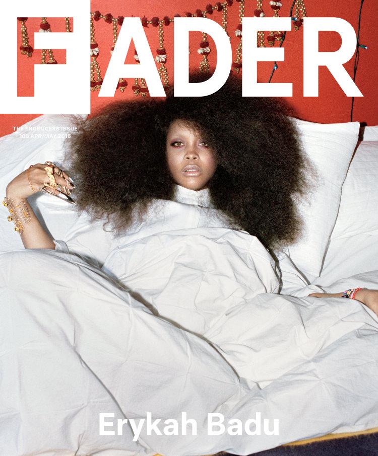 Erykah Badu For 'Fader' Magazine