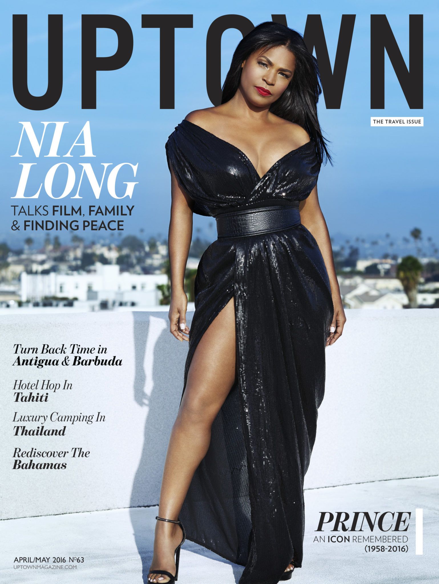 Nia Long For 'Uptown' Magazine