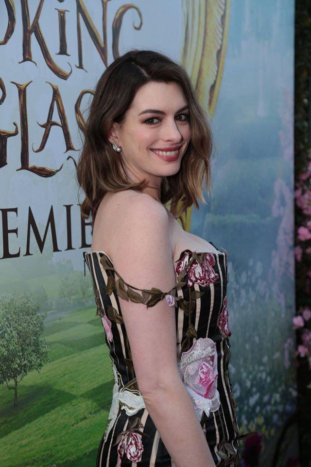 Wardrobe Breakdown: Anne Hathaway At Disney 'Alice Through The Looking Glass' Premiere
