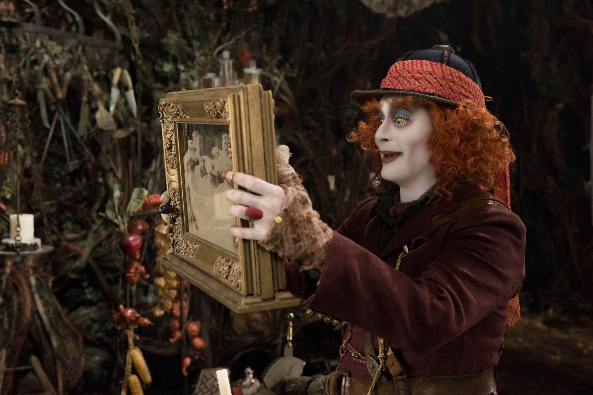 Johnny Depp Surprises Disneyland Guests As The Mad Hatter
