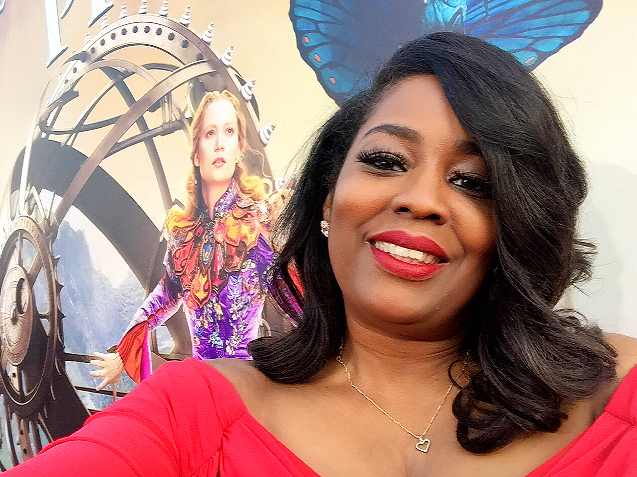 Walking The Red Carpet For Disney 'Alice Through The Looking Glass' Premiere!
