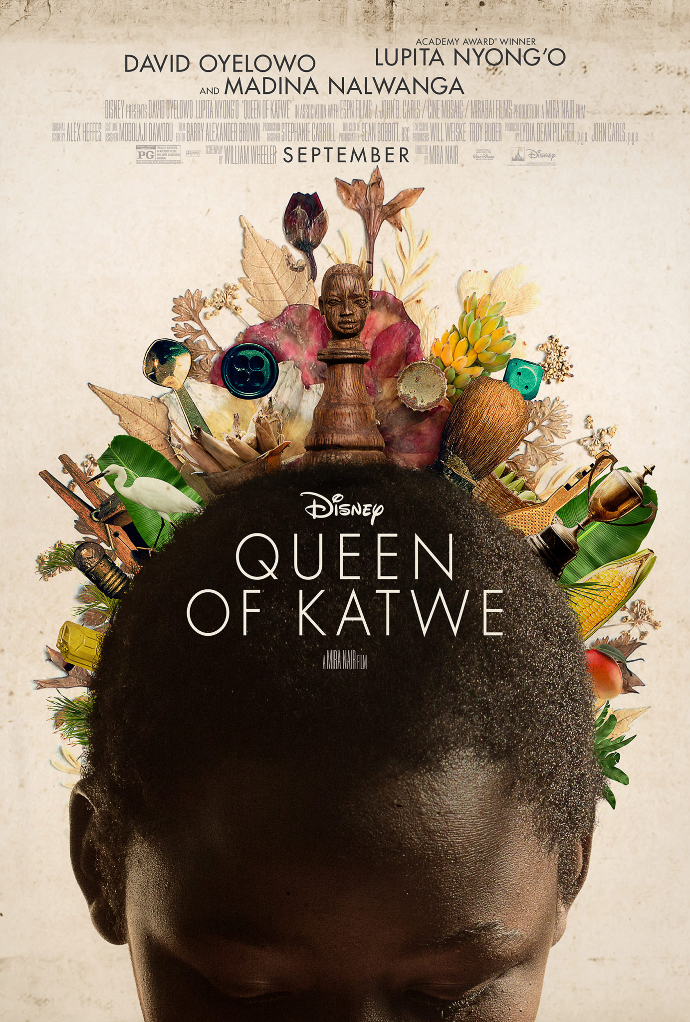 New Movie: 'Queen Of Katwe' Starring Lupita Nyong'o