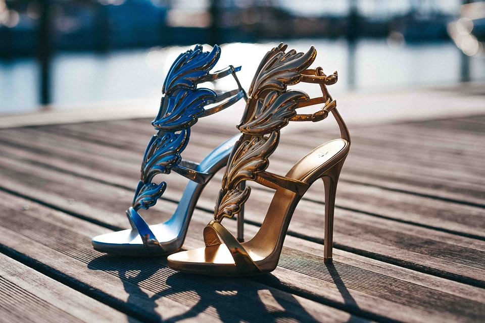 The Making Of A Pair of Giuseppe Zanotti 'Cruel' Crystal Sandals