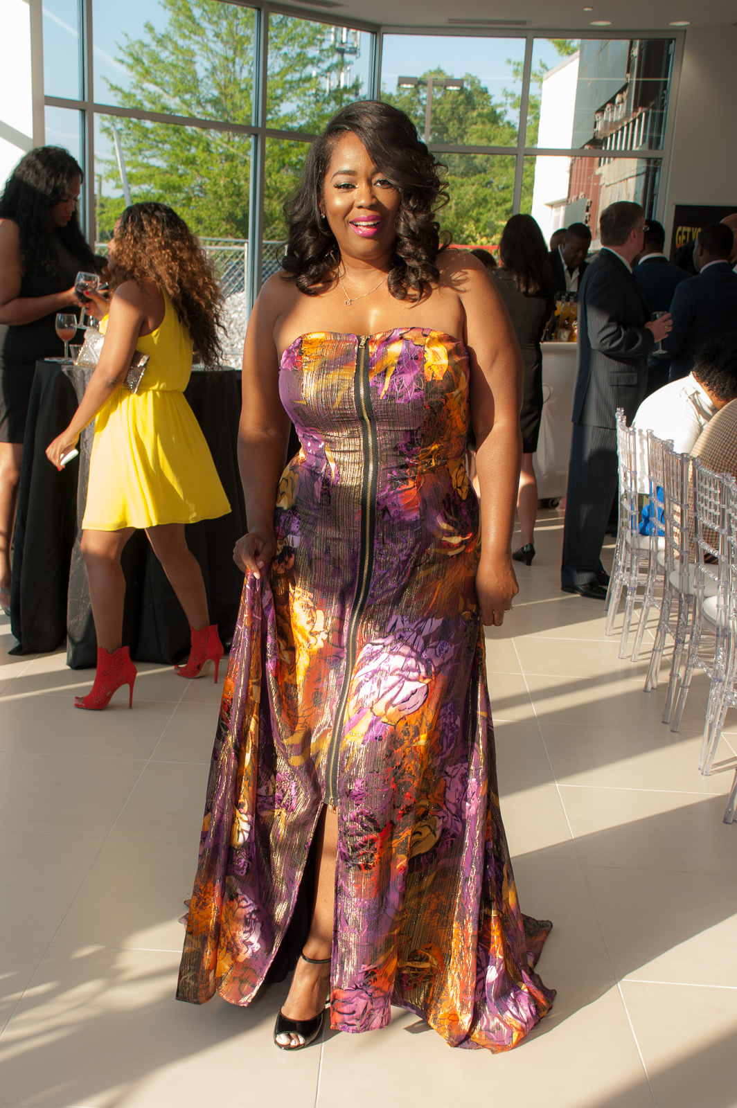 My Style: Lisa Nicole Collection Chiffon Gown