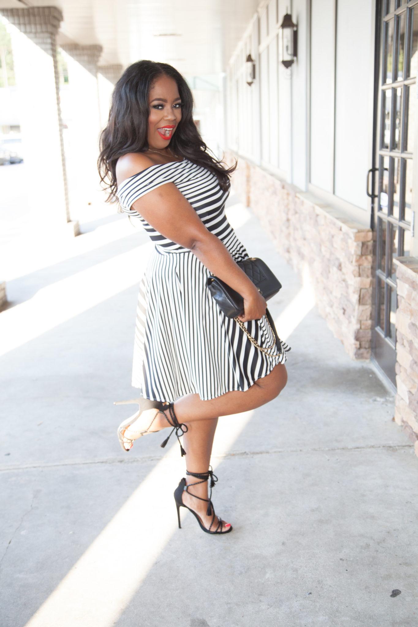 My Style: Ennyluap 'Lynn Whitfield' Shoulder Dress