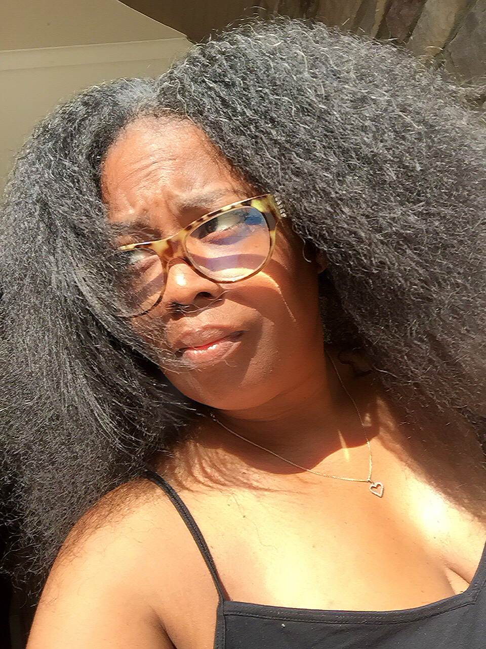 Hair Chronicles: Natural Hair For A Day