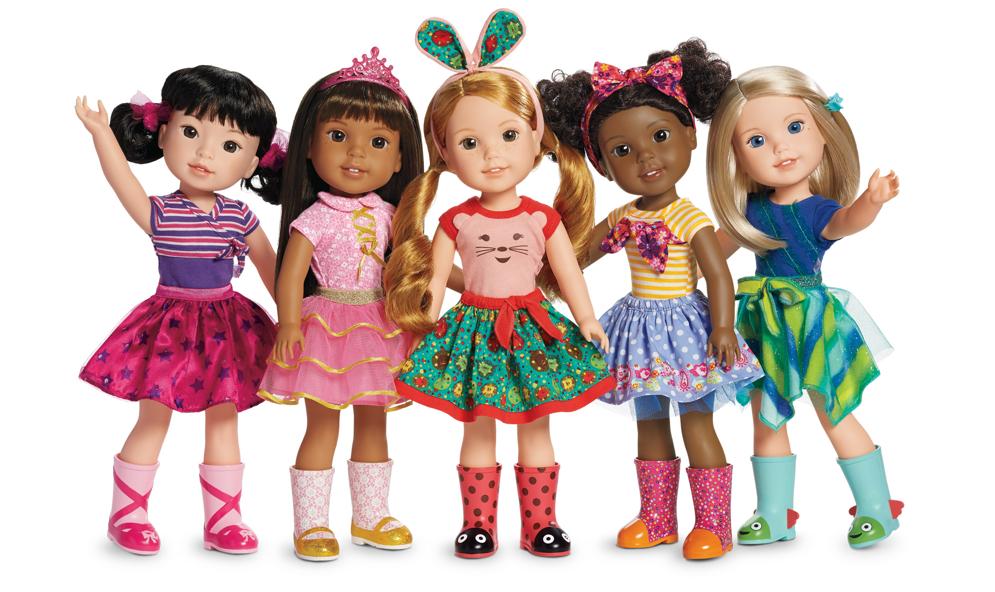 American Girl Launches 'WellieWishers' Doll Line
