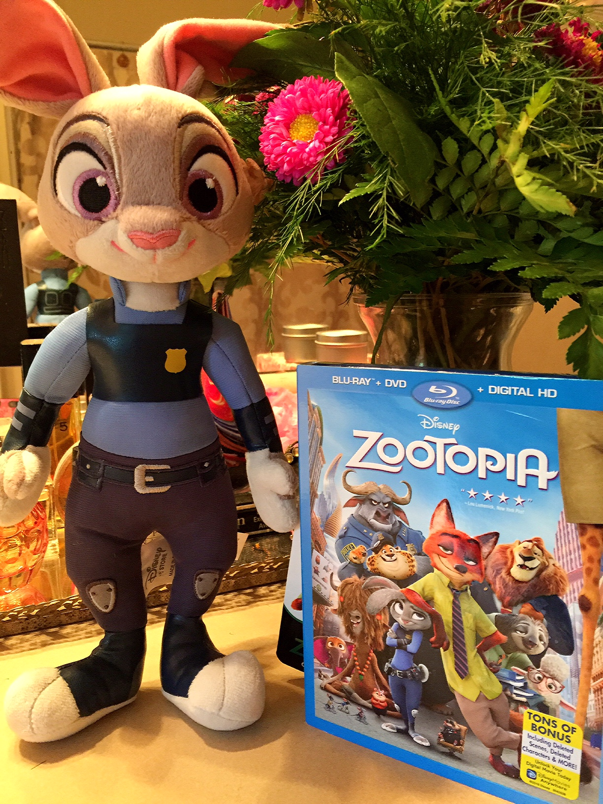 'Zootopia' The Movie Available NOW On BLU-RAY