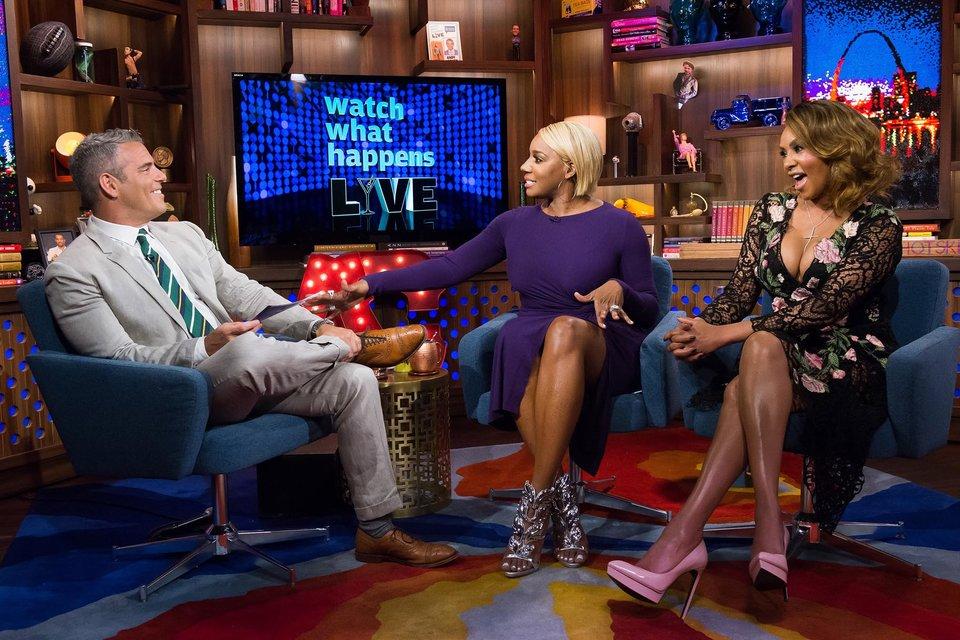 Wardrobe Breakdown: NeNe Leakes & Vivica Fox On 'Watch What Happens Live'