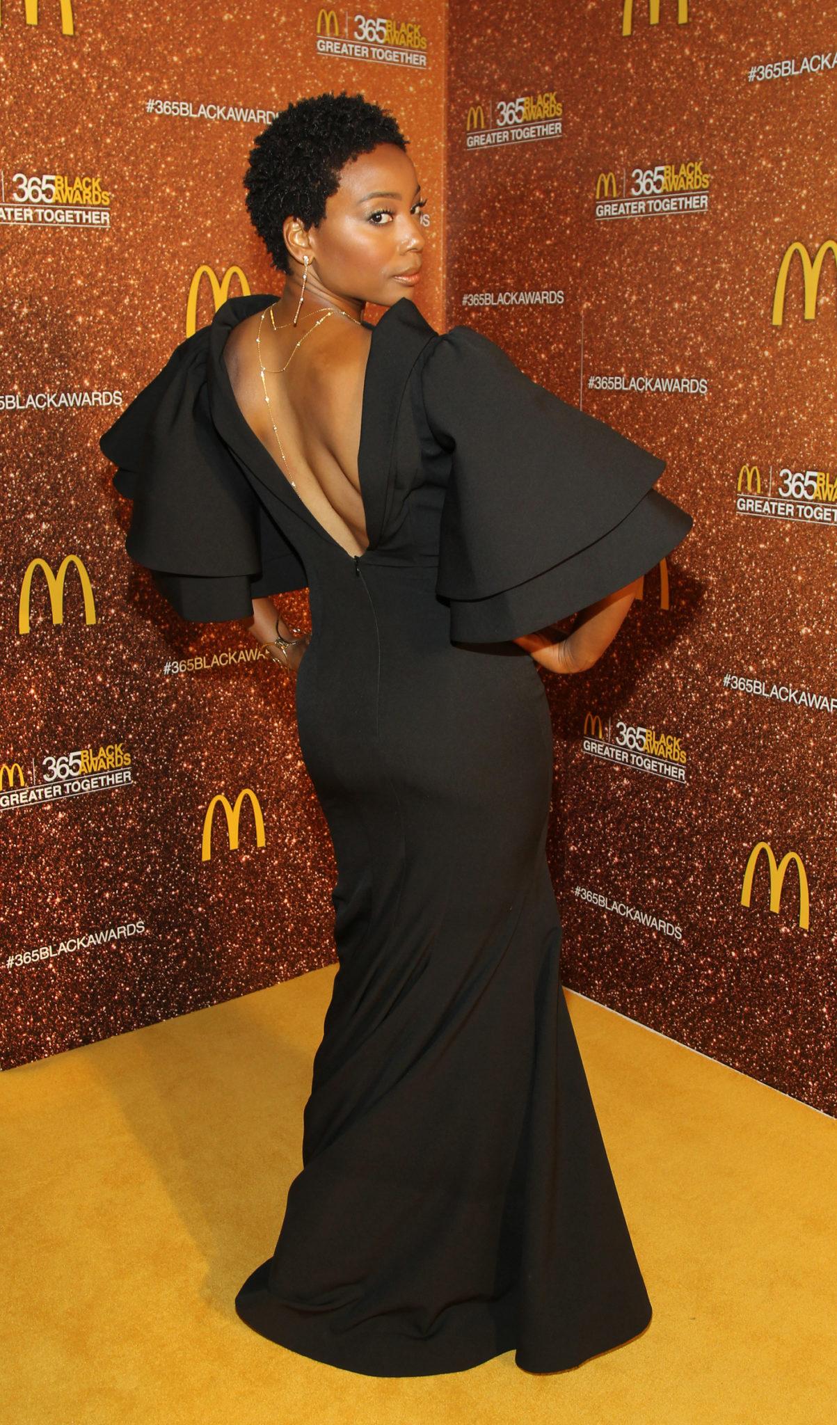 Wardrobe Breakdown: Erica Ash At McDonalds 365 Black Awards