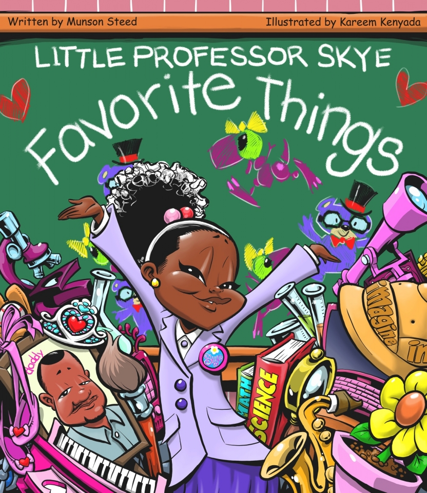 New Book: 'Little Professor Skye Favorite Things'