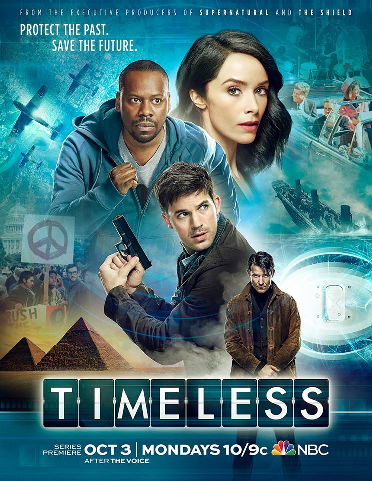 New Tv Series & A Press Junket To Vancouver, Canada For NBC's 'Timeless'