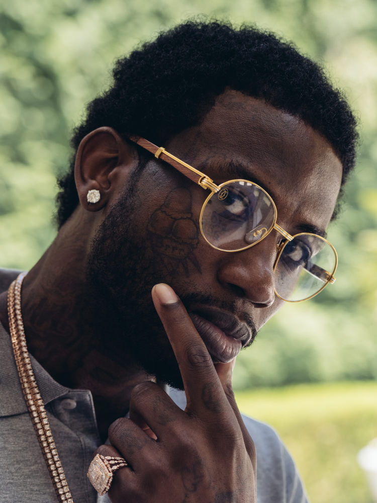 Gucci Mane For 'Fader' Magazine
