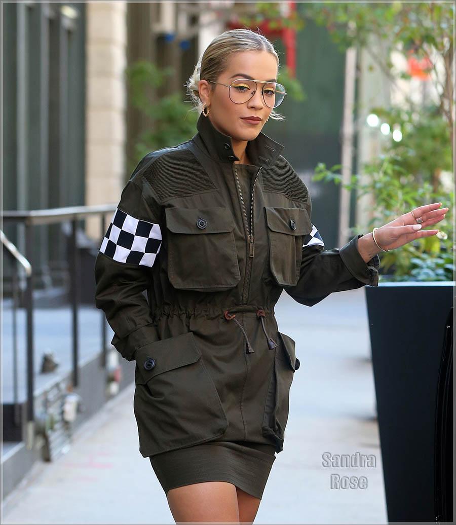 Wardrobe Breakdown: Rita Ora In New York City