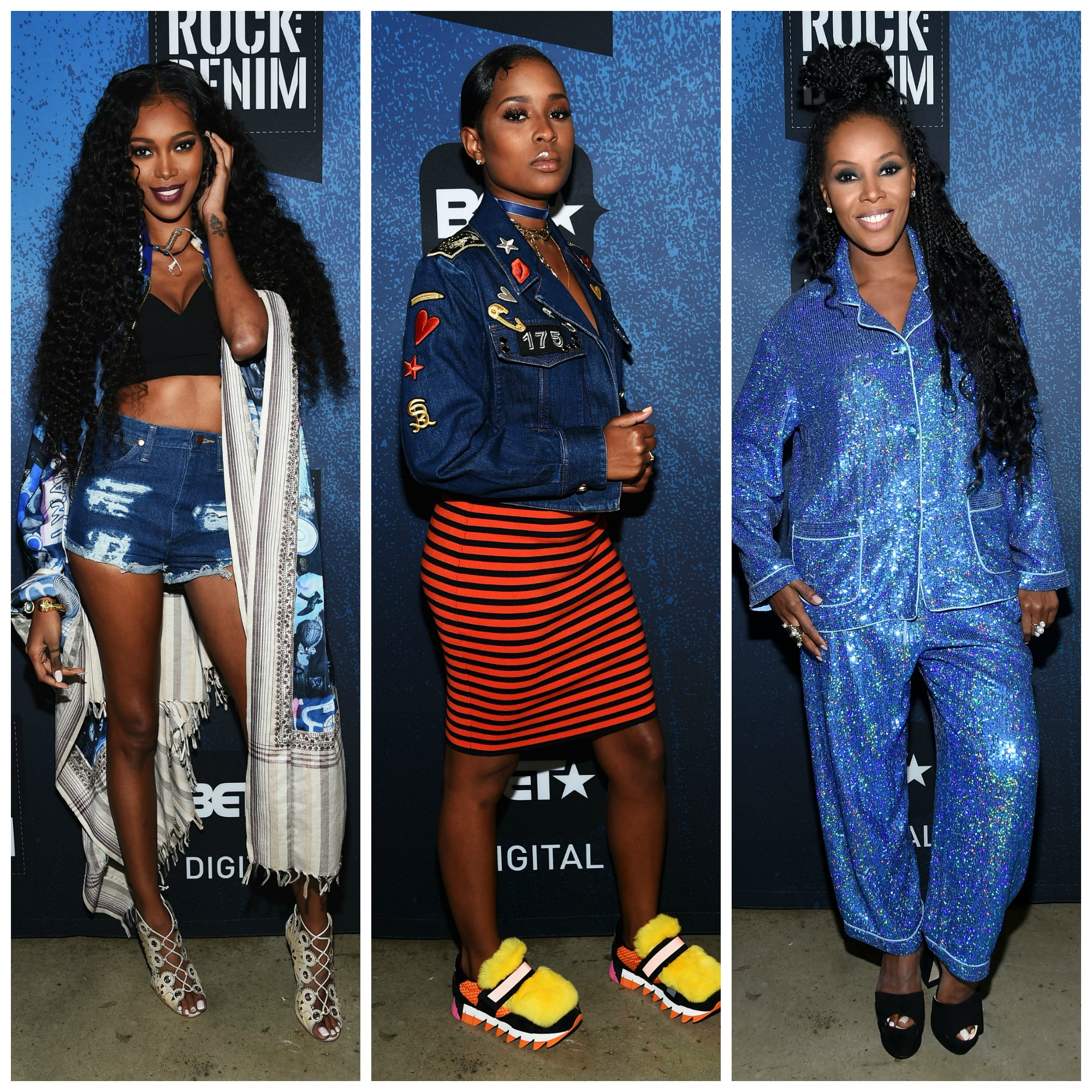 Red Carpet Arrivals: BET's 'How To Rock' Denim Fashion Show