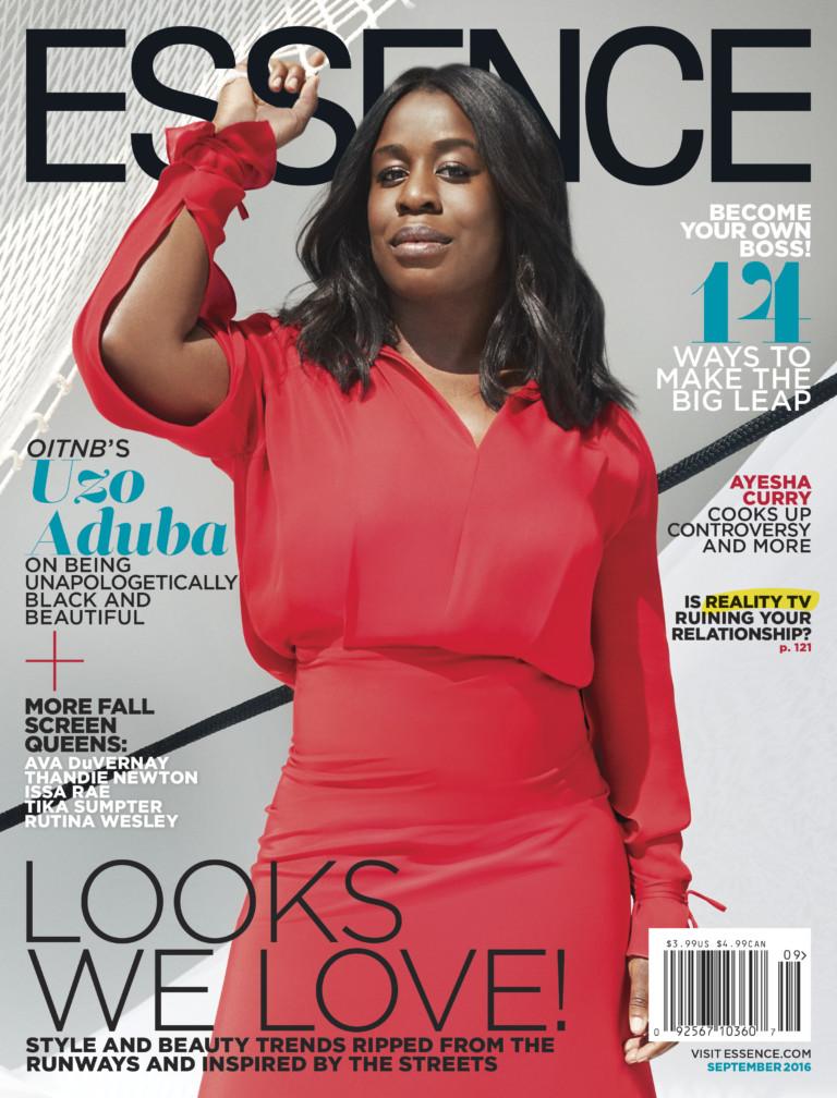 Uzo Aduba For 'Essence' Magazine