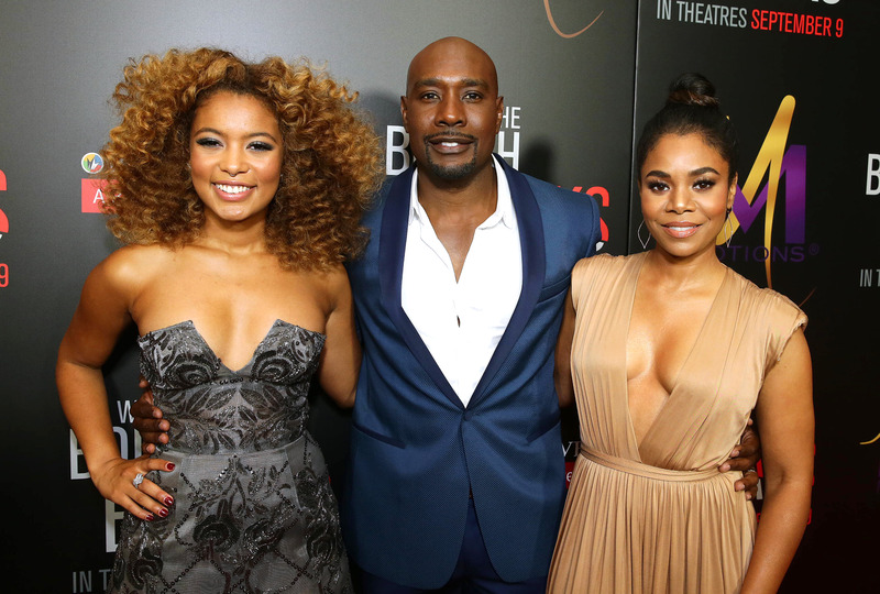 Morris Chestnut, Regina Hall, Sanaa Lathan And More Attend 'When The Bough Breaks' Premiere