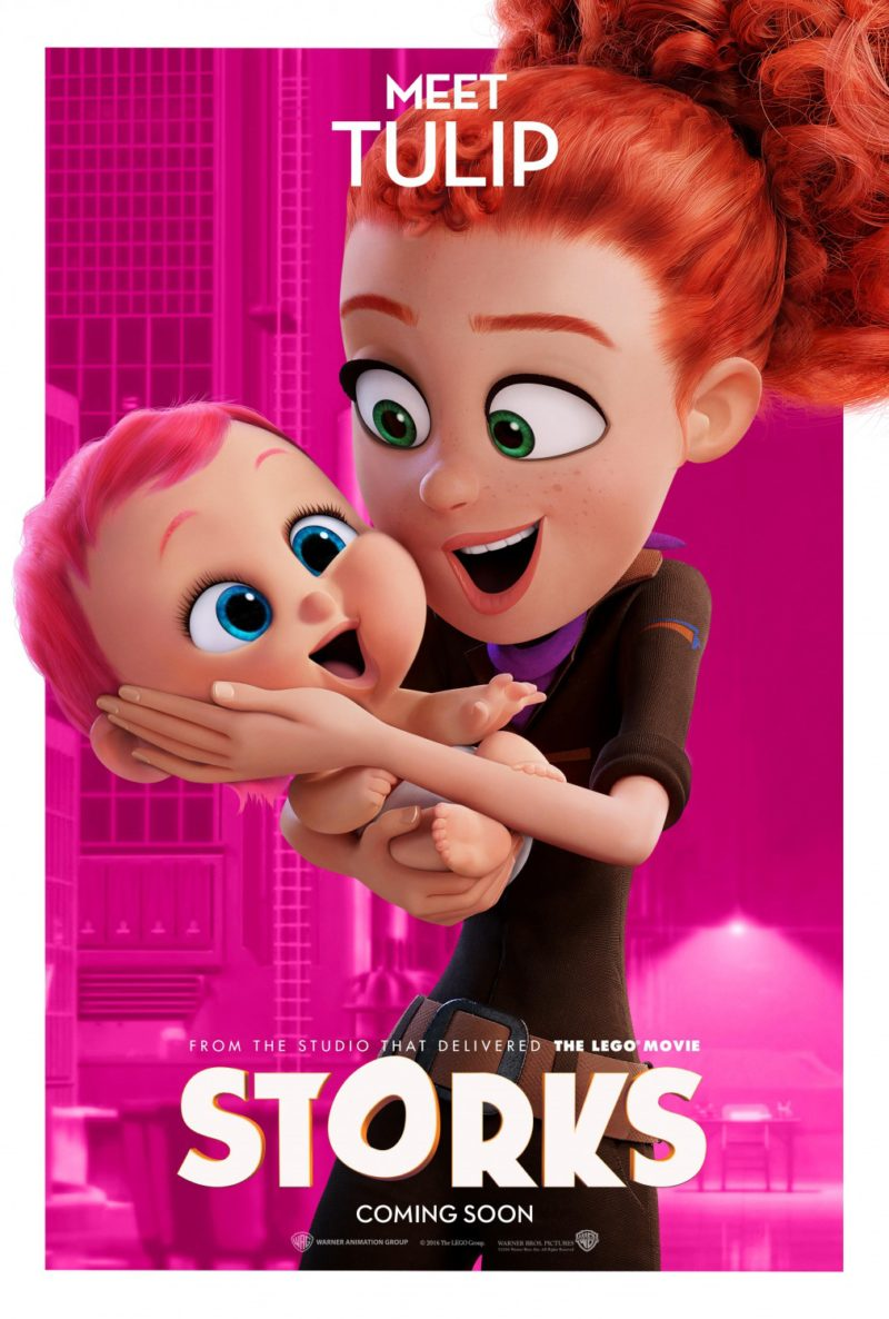 New Movie & A Press Junket To Los Angeles For 'Storks'!