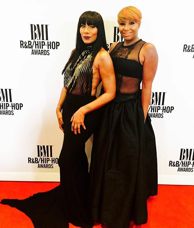 Wardrobe Breakdown: Towanda Braxton At BMI Awards