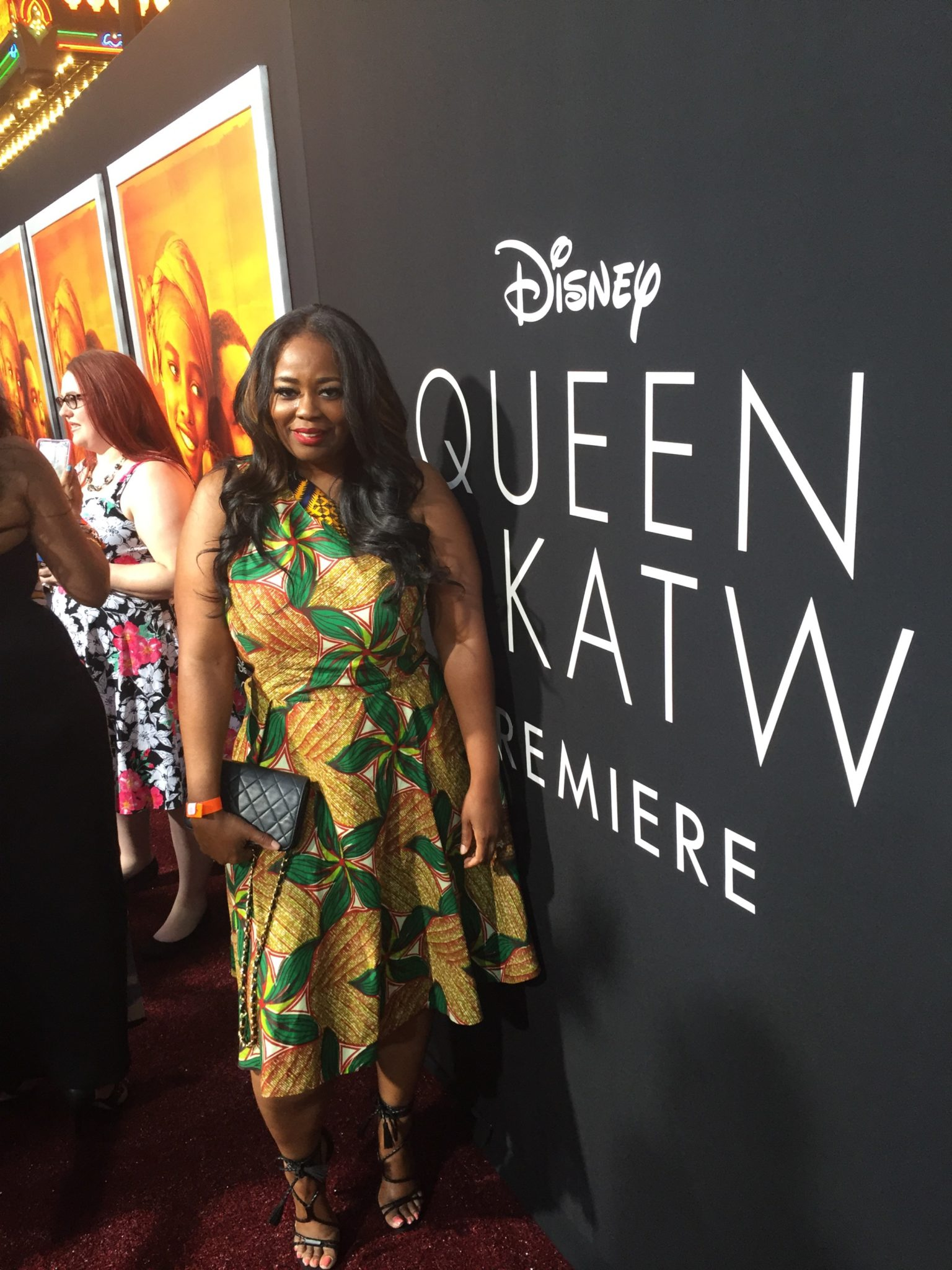 My Red Carpet Experience At Disney's 'Queen Of Katwe' Hollywood Premiere