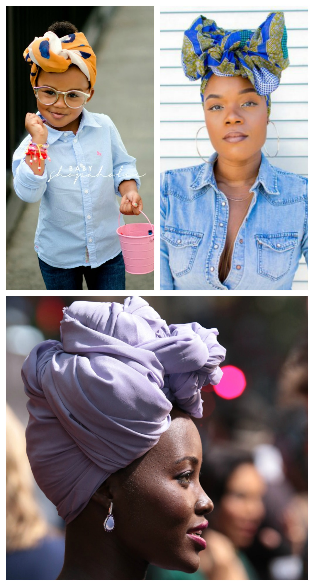Style Trend: Fashionable Head Wraps