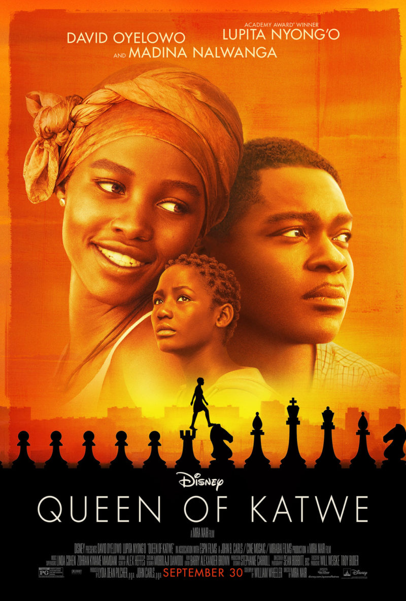 New Movie & A Press Junket To Los Angeles For 'Queen Of Katwe' Premiere