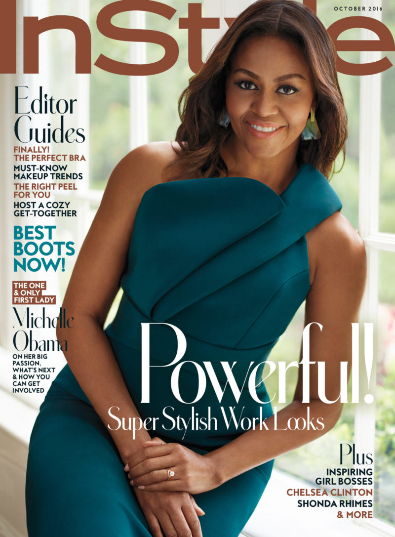Michelle Obama For 'InStyle' Magazine